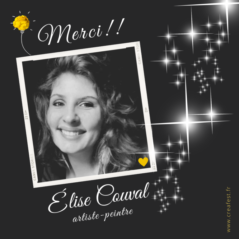 Read more about the article Merci Elise Couval !